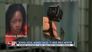 Counselor accused of death threats still on job | WFTS Investigative Report - Video