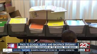 Pack to School Event - Video