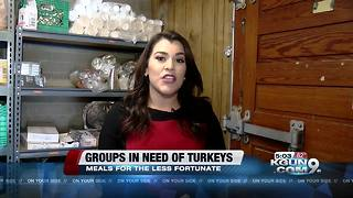 Donate a turkey to feed Tucson Families - Video