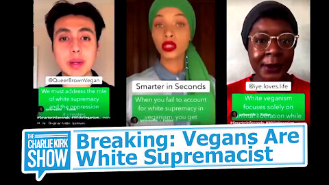 Breaking: Vegans Are White Supremacist
