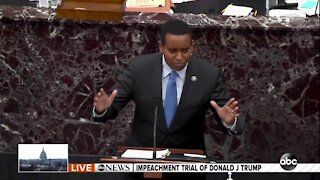 Rep. Joe Neguse delivers opening remarks at Donald Trump's second impeachment trial