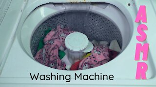 Washing Machine Complete Cycle ~ ASMR ~