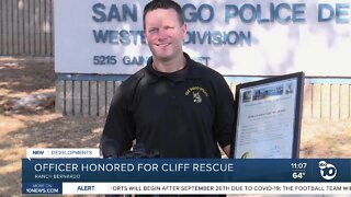 SDPD officer honored with own day