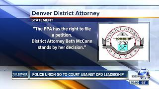 Union wants judge to force charges against DPD chief, deputy chief - Video