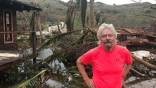 After Hurricane Irma, Richard Branson's Private Island Resort Will Open in October 2018 - Video