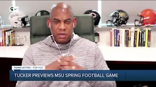 Mel Tucker previews Michigan State spring football game