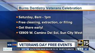 Freebies and discounts for veterans - Video