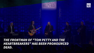 Rock And Roll Hall Of Famer, Tom Petty Dead At 66 - Video