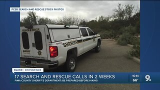Deputies respond to several hiker rescues