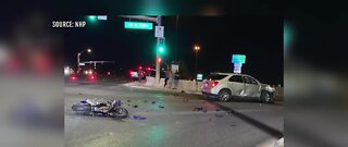 Motorcyclist killed in crash