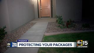 Porch pirate steals from Phoenix man on his birthday - Video