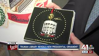 Presidents' Day ornament celebration at Truman Library - Video