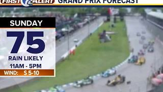 Dry for racing Saturday - Video