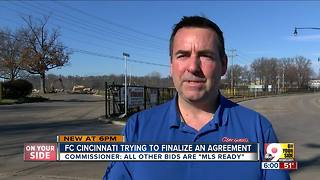 FC Cincinnati attorneys busy trying to finalize contract with Major League Soccer - Video