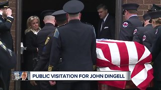 Funeral, visitation arrangements for late U.S. Congressman John Dingell