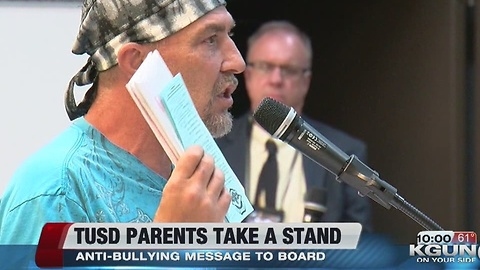 Parents take a stand against bullying