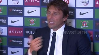 Conte: Chelsea unlucky to have so many red cards - Video