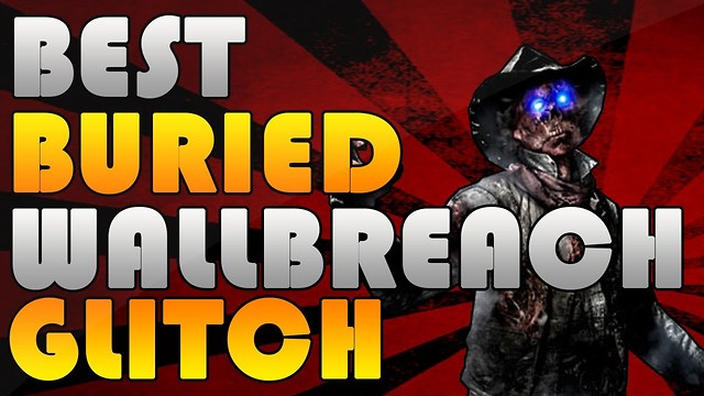 Black Ops 2 Zombies Buried Wallbreach High Level Glitch