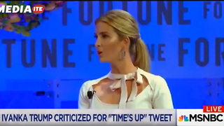 MSNBC Host Tears Into Ivanka Trump's 'Depraved Audacity' Over Tweet WT - Video