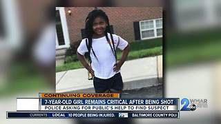 7-year-old girl remains critical after being shot - Video