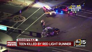13-year-old killed in Goodyear crash, several others taken to the hospital