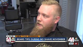 Beard tips during 'No Shave November' - Video