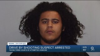 SVPD: Drive-by shooting suspect arrested