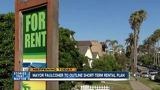 Mayor to give plan on short-term rentals