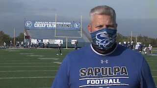 Interview with Sapulpa Head Coach Robert Borgstadt