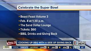 Celebrate the Super Bowl with bqq and charity - Video