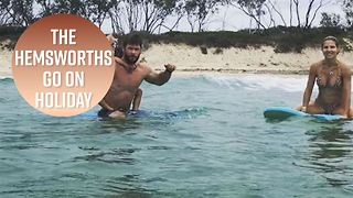 See the Hemsworth's epic family vacay photos - Video