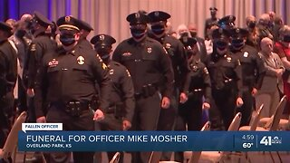 Funeral for Officer Mike Mosher