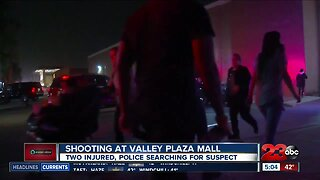 Police continue to search for Valley Plaza Mall shooting suspect