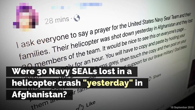 Prayer Request for 30 SEALs Killed in Afghanistan