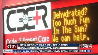 Urgent Care services now available at McCarran Airport - Video