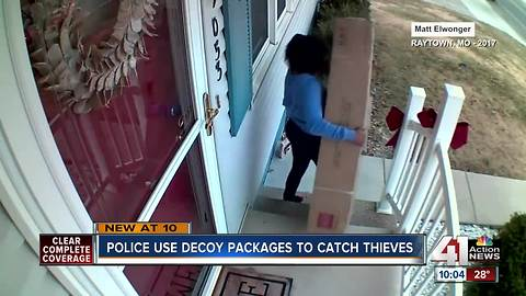 Package thieves busted in Lansing, Kan.
