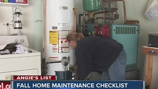 Angie's List: Fall home maintenance checklist - Video