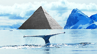 Secretary Of State visits alien UFO base Antarctica pyramid claims conspiracy theorist??