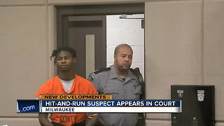 Hit-and-run suspect appears in court