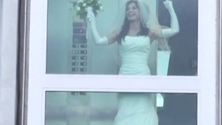 Funny Wedding Day Fail | Bride Stuck In Elevator