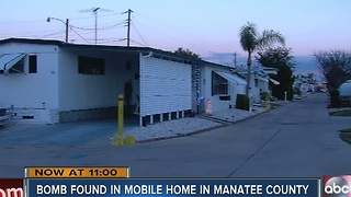 Grenade Found in Mobile Home Oven - Video