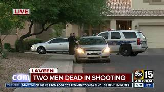 Two dead after shooting in Laveen - Video