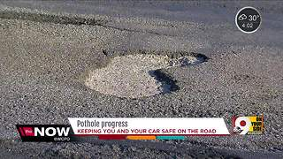 Cincinnati makes progress on potholes - Video