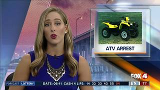 Teens arrested for stealing ATV, vandalizing boats - Video