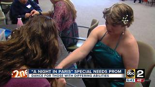 'A Night in Paris' special needs prom hosted by John Carroll High - Video