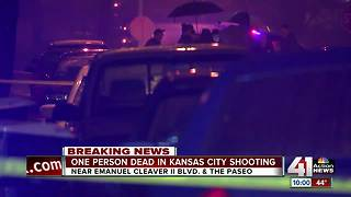 One dead in shooting near 46th, Tracy Ave - Video
