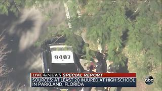 RAW: Suspect in Florida school shooting taken into custody