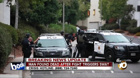 SWAT stand-off in Point Loma