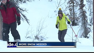 Snowpack in Boise Basin fifth lowest in nearly 60 years - Video