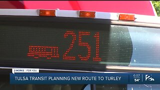 Tulsa Transit planning new route to Turley